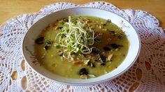 Biała zupa krem White cream soup