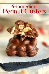Four Ingredient Peanut Clusters | eBay