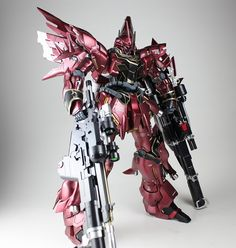 MG 1/100 Sinanju 虚無の王 - Modeled by Kouichi