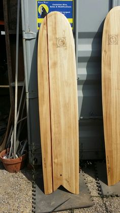 8a88d8acc Alaia surfboard wood paulonia and red cedar.