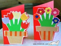 Mother's Day -Hand makes flower stems