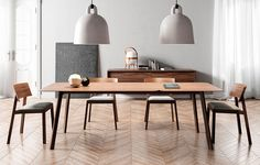 Transalpina 205 Extendible Table by Punt Mobles