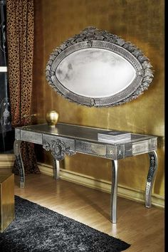 Custom Glass Furniture/Mirrors at Private Apartment in NY@