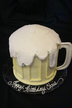 beer tasting party cake idea (Clay's Bakery)