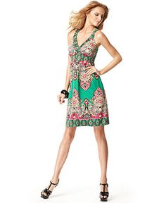 I love the colors in this great day dress from INC