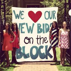 We love our new bids on the block