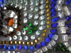 Details, Minnie Evans Bottle Chapel
