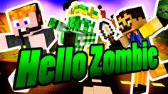 Minecraft - Hello Zombie [GYERE ÖCSI!] Minecraft, Logos, Art, Art Background, Logo, Kunst, Performing Arts, Art Education Resources, Artworks
