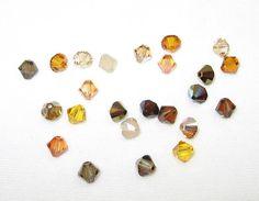 Tupelo Honey 6mm Swarovski Crystal Mix by BlueThistleDesigns
