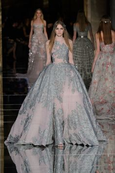 Zuhair Murad at Couture Spring 2016