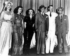 Dorothy Lamour, Paulette Goddard, Veronica Lake & Alan Ladd - STAR SPANGLED…