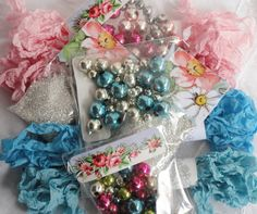 DIY Crafts Marie Antoinette I Want Candy Kit by LoveEmbellished Ornament Wreath, Ornaments, Marie Antoinette, Craft Kits, Diy And Crafts, Gift Wrapping, Concept, Candy, Mercury