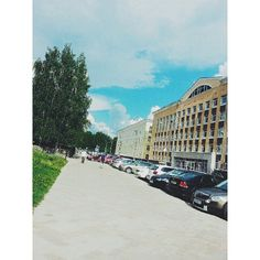 """""""Summer ☀ #city #Russia #Syktyvkar #walked #all#day#new#friends #new#meetings #sunshine #bright #but#it#was#rain #square #nice#tremendous #stroll…"""""""