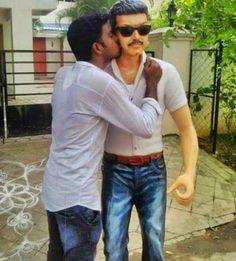 #Vijay Die-hard #Fans Unveiled #vijaystatue in Chrompet! #Vijay #Statue #StatueForVijay