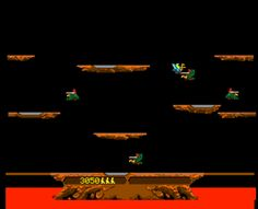 Used to play this game for hours on end. #Joust