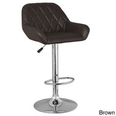 Splayed Arm Adjustable Swivel Stool (set Of 2)
