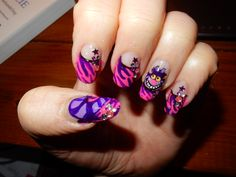 alice in wonderland en prinsessen nagels