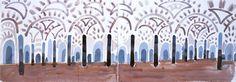 David Hockney - Andalucía, Mezquita, Córdova 2004