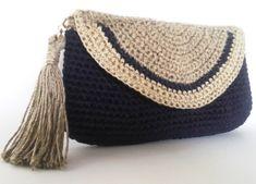 Evening clutch Crochet Purse Crochet Phone Clutch