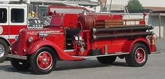 1935 Ford Pumper Fire Truck...our FD has one like this.