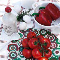 Une assiette peinte aux couleurs de l'Italie - Marie Claire Idées