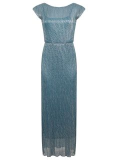 Turquoise Shimmer Maxi
