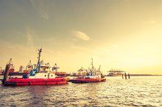 Hamburg Harbour  Photo by Hinrich Carstensen