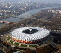 The National Stadium, Warsaw, Poland