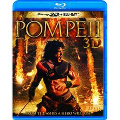 Pompeii (3D Blu-ray /Blu-ray ) Jared Harris, Kit Harington, Carrie Anne Moss, Kiefer Sutherland, Pompeii, Canada Shopping, Movies And Tv Shows, Movie Tv, 3d