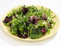 Mixed Green Salad with Garlic Honey Vinaigrette