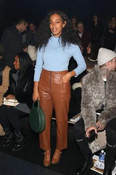 13 Best-Dressed Celebrities at Fashion Week