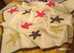 Derya Baykal yıldızlı battaniye yapımı - Hobikafa.com