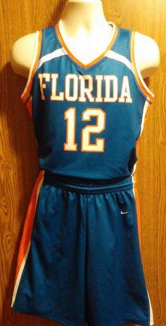 Men's Florida Gators Basketball Team Uniform Size Medium NCAA #12 #nike #FloridaGators
