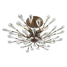 ELK Lighting Crislett 18241/4 Semi Flush Mount Light - 18241/4