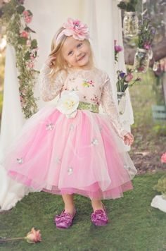 She Loves Me Spring Gown Preorder 12 Months to 12 Years