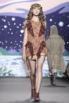Anna Sui Spring Summer Ready To Wear 2014 New York