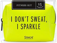 Survival of the fittest. Stash this Fitness Kit by Pinch Provisions in your gym bag and focus on what matters: having a great workout! From emergency s Workout Essentials, Workout Gear, Travel Essentials, Workouts, Just Do It, Just In Case, Mini Emergency Kit, Motivation Background, Best Bridesmaid Gifts