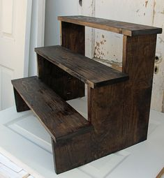 Rustic Cupcake Stand By Foo Foo La La by FooFooLaLaChild on Etsy