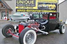 1927 Ford Model T Coupe Street Rod