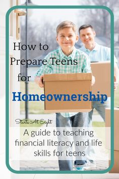 How to Prepare Teens for Homeownership is a practical guide to teaching teens about credit, savings, and the process of buying a home. Parenting Teenagers, Parenting Advice, High School Schedule, High School Organization, High School Curriculum, High School Years, High School English, Financial Literacy, School Resources