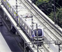 First phase of Gurgaon's Rapid Metro Rail that covers 5.1 km long track, with six stations: DLF phase-II, Belvedere Towers, Gateway Towers, Moulsari Avenue, DLF Phase-III and Sikanderpur will be inaugurated on Oct 2, Gandhi Jayanti. S.S. Dhillon, Secretary of Haryana Chief Minister said this would be the country's first metro-rail system developed in the public-private partnership mode, at a cost of about Rs. 1,100 crore.