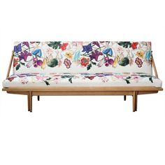Poul M. Volther Daybed   From a unique collection of antique and modern day beds at http://www.1stdibs.com/furniture/seating/day-beds/