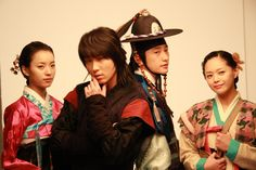 """Iljimae(Hangul:일지매;hanja:一枝梅;RR:Iljimae; literally """"One blossom branch"""") is a 2008 South Koreanperiod-action television series, starringLee Joon-giin the title role of Iljimae,Han Hyo-joo,Lee Young-ahandPark Si-hoo.It is loosely based on thecomic stripIljimae, published between 1975 and 1977, written by Ko Woo-young based onChinese folklorefrom theMing dynastyabout a maskedRobin Hood-esque character during theJoseon era.한효주 이준기 박시후 이영아"""