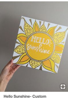 Hello Sunshine Custom Quote Canvas Painting BohoInspired Sun is part of Canvas crafts Boho - Choose your quote! Font can be done in white, black, silver or gold Choose a color scheme! This one features the yellow color scheme with gold accents Cute Canvas Paintings, Diy Canvas Art, Canvas Ideas, Sorority Canvas Paintings, Painting Canvas Crafts, Yellow Canvas Art, Canvas Painting Quotes, Happy Paintings, Sun Painting