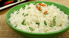 Coconut Thai Rice - Recipes - Best Recipes Ever - Steeped in the flavours of coconut and ginger, this fragrant Thai rice is a delicious sampling of just how versatile rice can be.