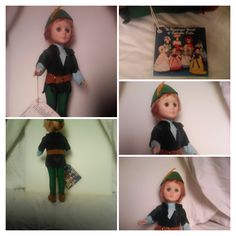 """Effenbee 1983 Robin Hood 12"""" tall he is perfect condition . $40"""