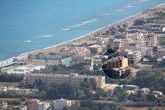 distance from Ammoudara beach! Crete, San Francisco Skyline, Paris Skyline, Distance, Anna, Beach, Travel, Viajes, The Beach