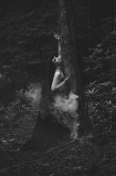 Summoning the woodland spirits beyond the veil of shadow....... Charis Talbot – Felicity Switch • Dark Beauty Magazine