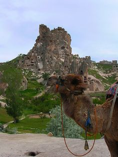 Ancient Christian Settlement in Cappadocia, Turkey