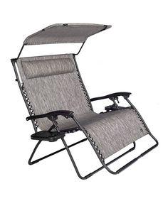Look at this #zulilyfind! Platinum Two-Person Canopy Travel Reclining Chair #zulilyfinds